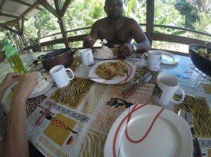 Déjeuner avec Daniel